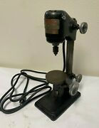 Dumore 16-021 Sensitive Bench Style Hi Speed Drill Press Watchmaker Jewelers
