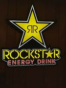 Rockstar Energy Drink Sign Hanging Chains Only