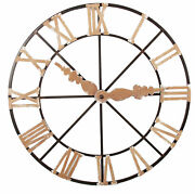 Ab Home Southern Living Wall Clock In Gold 37827