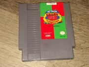 Attack Of The Killer Tomatoes Nintendo Nes Cleaned And Tested Authentic