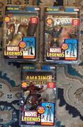 Toy Biz Marvel Legends Sentinel Series Lot 3 With 1st Appearance Of Spider-man