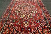 6'8 X 10'5 Classic Fine Hand Knotted Wool Area Rug 7 X 10 Nomad Oriental Carpet