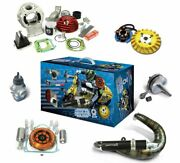 Parmakit Ready To Race Racing Set Cylindre Silencieux Allumage Vespa 50 Special