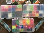 1000's Of Rainbow Loom Bands W/kit Everything You Need Tons Of Bands