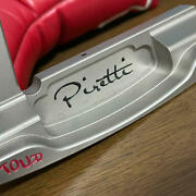 Piretti Cortino Lm Tour Supply Lm Long Neck Golf Putter 34 Inches Used D7aamn