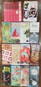 Big Lot Of Collectible Scentsy 2017 Supplies Wotm Flyers Stickers Fall Catalogs