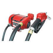 Fill-rite Nx25-ddcnf-aa Fuel Pump,1/3 Hp,12 To 24vdc,25 Gpm