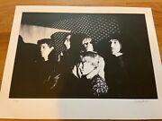 Billy Name Signed Velvet Underground Lou Reed Photo Print Andy Warhol Silkscreen