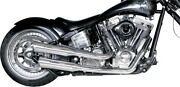 Supertrapp Fatshots Exhaust System For 300/330mm Tire Chrome 828-71420