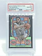 2013-14 Tim Duncan Spurs Panini Innovation Stained Glass 31 Mt Rare Pop 3