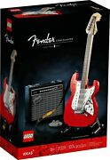 Lego 21329 Fender Stratocaster Ideas New Factory Sealed 🔥same Day Shipping🔥