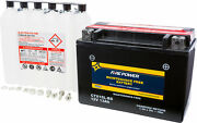 Maintenance Free Sealed Battery Fire Power Ctx15l-bs Replaces Ytx15l-bs