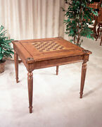 Butler Vincent Antique Cherry Multi-game Card Table 0837011