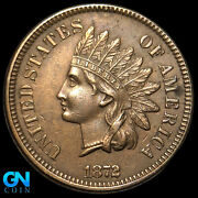 1872 Indian Head Cent Penny -- Make Us An Offer K8874