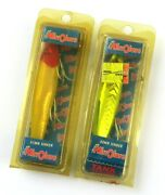 Mirrolure 52mr Sinker 3 1/2 Fishing Lures, Lot Of 2 Old Stock Open Packages