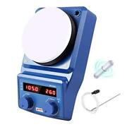 Led Digital Magnetic Hotplate Stirrer - Four E's Lab Hot Plate With Stir Bar And