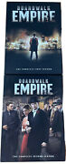 Boardwalk Empire Series Complete Seasons 1 First And 2 Second Dvd Box Set Lot Hbo