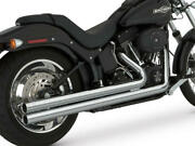 Vance And Hines Big Shots Long Dual Full Exhaust System Chrome Harley Davidson