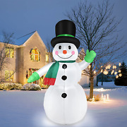Inflatable Snowman Winter Outdoor Yard Decorations Christmas Inflatables Holida