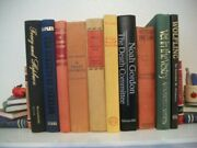 Lot Of 10 Old Collectible Books 1913 - 1989 Hardcover