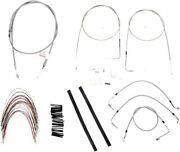 Extended S.s. Control Cable Kit 14 Tall Bars Bub. B30-1085 2007 Hd Baggers