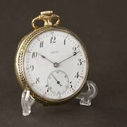 Vintage 1920s Invar Swiss Classic Of Pocket Rare Collectible Watch Special Gift