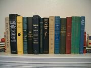 Lot Of 14 Old Collectible Books 1943 - 2006 Hardcover
