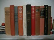 Lot Of 11 Old Collectible Books 1940 - 1987 Hardcover