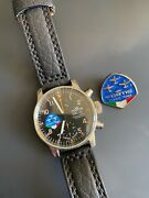 Fortis Flieger Limited Edition Flight Team Chronograph Mens Watch -only 203 Made