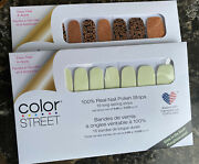Color Street Glow-getter Glow In The Dark Nail Strips And Jack Of All Trades