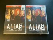 Alias Tv Series The Complete First Season Dvd 2009 6-disc Box Set New And Sealed