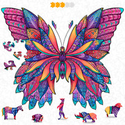 Hodslen Woods - Animal Wooden Jigsaw Puzzles For Kids 12+ Years Adult, Teens,