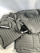 1994 1995 1996 Impala Ss Leather Seat Front And Rear Replacement Kit Gray 1 Kit