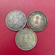 3 Genuine Chinese Coins And Silver Coins