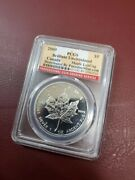 Maple Leaf 2009 5 1oz .9999 Silver Coin Ngc