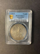 Great Britain Trade Dollar 1930 Bombay Toned Uncirculated Pcgs Ms63+
