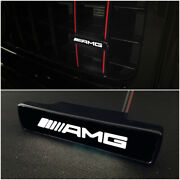 Mb G-wagon G63 G500 W464 W463a W463 White Front Grille Badge Led
