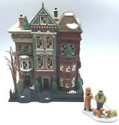 Dept 56 Christmas In The City 59266 East Village Row Houses
