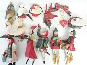 Complete Set Of 12 House Of Hatten 12 Days Of Christmas Ornaments Twelve 1989