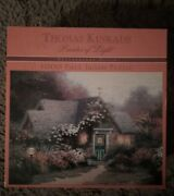 Ceaco Thomas Kinkade The Valley Of Peace Jigsaw Puzzle - 1000 Piece And Two Mugs