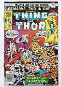 Marvel Two In One 22 The Thing Thor Bronze Age Marvel Comics 1976 Vfn+