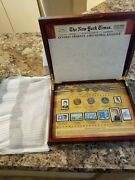 50th Anniversary John F Kennedyandrsquos Inaugural Address In Wood Display Case W Coins