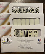 Color Street Glow-getter, Boo Crew And Feeling Fab-boo Lous Glow In The Dark Nail