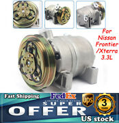 For Nissan Frontier 1999-2004 / Xterra 2000-2004 3.3l Air Ac Compressor And Clutch