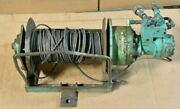Hydraulic Winch With Eaton Pump 1/4 Cable