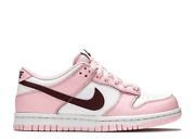 Size 4-6.5 Nike Dunk Low Pink Foam Red White Gs In Hand Free Ship