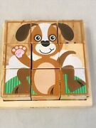 My 1st Puzzle Wooden Cube 6 Animals By Melissa And Doug