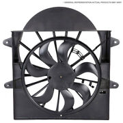 For Bmw 535i 535d Xdrive 2010-2017 Oem Radiator Side Cooling Fan Assembly Dac