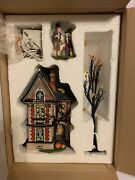 Dept 56 Time To Celebrate -boo Mansion