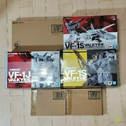 Dx Chogokin Vf-1j/vf-1s Article Roy Aircraft/missile Set 2/theater Sp